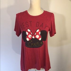 Ladies Disney Red t shirt Mickey Size XS Everyday